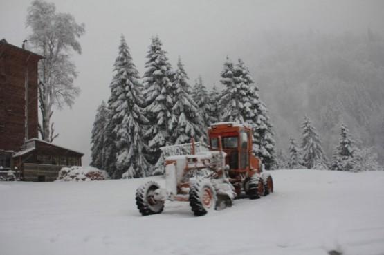 Ayder Yaylası'nda kış