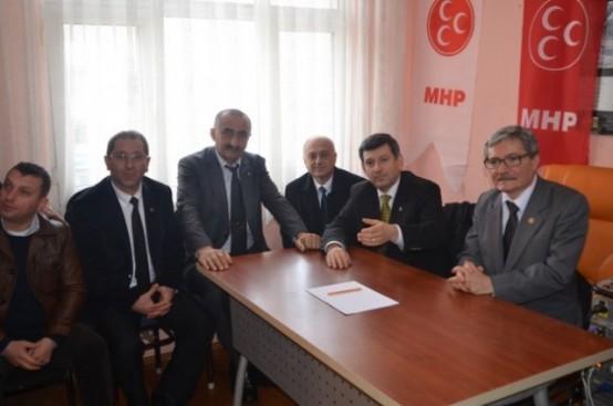 MHP'li Eski Bakan Ardeşen'e Geldi!