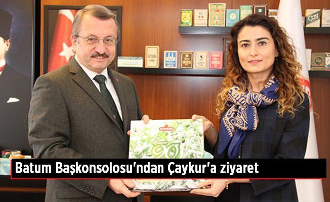 Batum Başkonsolosu'ndan Çaykur'a ziyaret