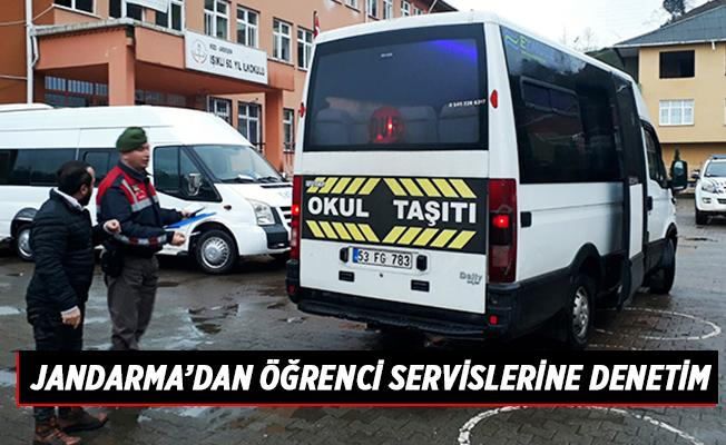 Jandarma'dan Öğrenci Servislerine Denetim
