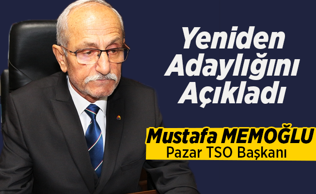 Memoğlu TSO Aadaylığını Açıkladı!