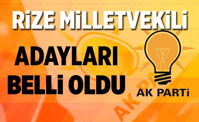 AK Parti Rize Milletvekili Adayları Belli Oldu - 2018