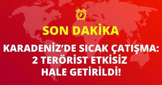 Son Dakika! Gümüşhane'de Sıcak Çatışma: 2 Terörist Etkisiz Hale Getirildi!