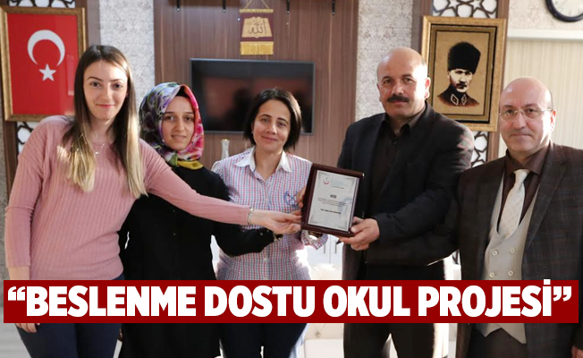 """BESLENME DOSTU OKUL PROJESİ"""