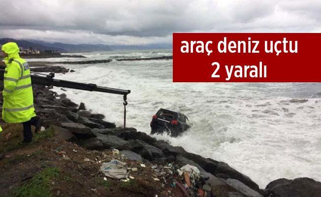 Cip Denize Düştü: 2 Yaralı