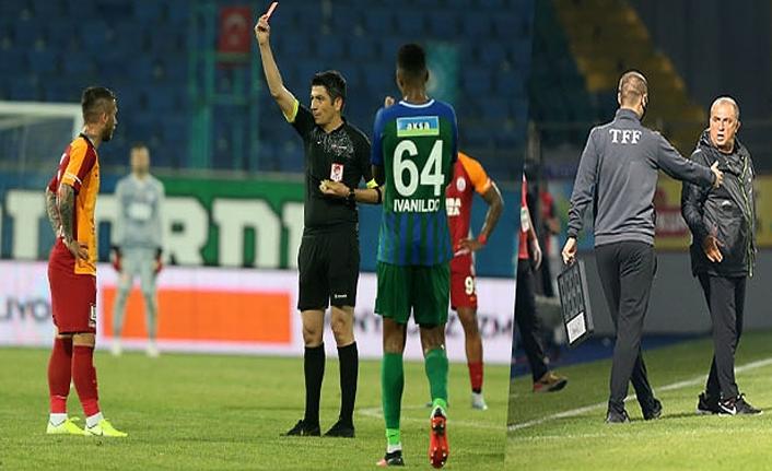 Rizespor maçı sonrası Galatasaray'a ceza yağdı!
